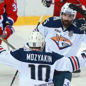 Sergei Mozjakin ja Danis Zaripov.