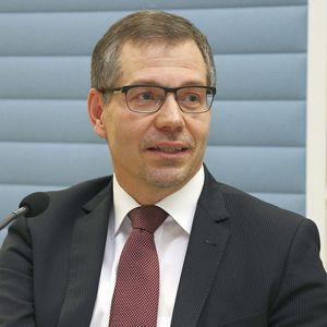 Jyväskylän yliopiston rehtori Keijo Hämäläinen.