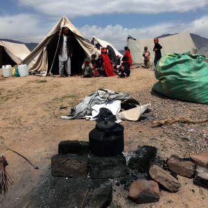 Pakolaisia Afganistan