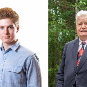 Benjamin Bergan ja Paavo V. Suominen