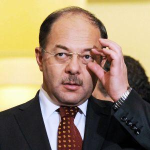 Turkin terveysministeri Recep Akdag.