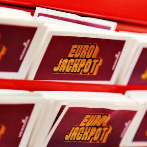 Eurojackpot-kuponkeja.