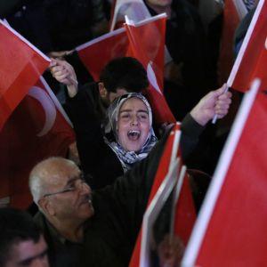 Turkin hallinnon kannattaja