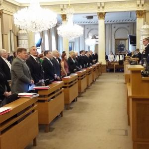 Turun kaupunginvaltuuston kokous.