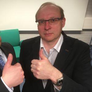 Markus Tykkyläinen ja Erkki Karppanen.