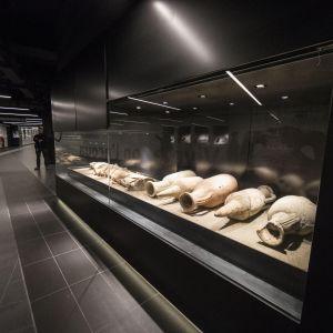 Rooman uusi San Giovannin metroasema.