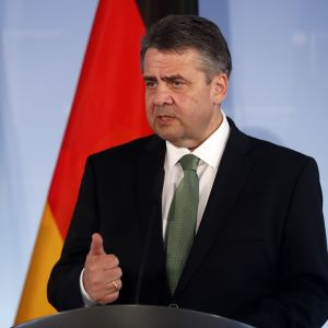Saksan ulkoministeri Sigmar Gabriel