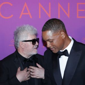 Pedro Almodóvar ja Will Smith.