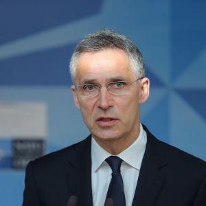 Naton pääsihteeri Jens Stoltenberg