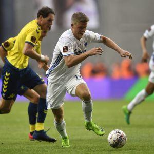 Tanskan cupin finaalissa kohtasivat FC Kööpenhamina ja Bröndby IF.