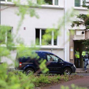 Palo oli Stålarminkadun kerrostalon ensimmäisen ja toisen kerroksen välipohjan ontelolaatassa.