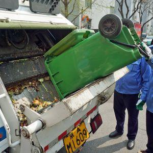Orgaaninen jäte kerätään erikseen.