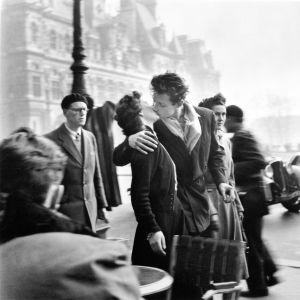 Rakastavaisia Pariisissa 1950.