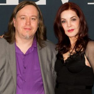 Tomi Raussi ja Priscilla Presley