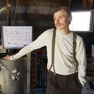 Graafikko Kimmo Kaukonen vaihtoi graafikon työt panimon toimitusjohtajan tehtäviin.