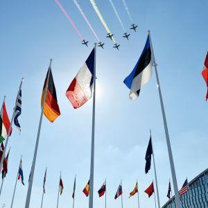 Naton päämaja sijaitsee Brysselissä.