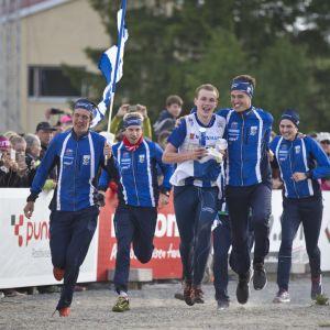 IFK Göteborgin voittajajoukkue kuvassa