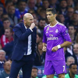 Zinedine Zidane ja Cristiano Ronaldo