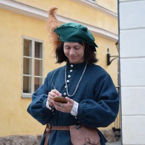 Keskiaikaisten markkinoiden Turun kaupungin kirjuri