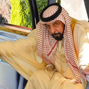 Sheikki Khalifa Bin Zayed.