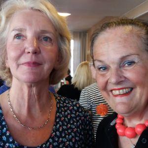 Ulla Nyström ja Gunilla Luther-Lindqvist.