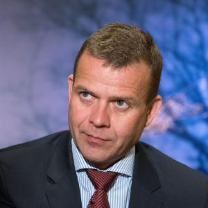 Valtiovarainministeri Petteri Orpo Ylen haastattelussa 27. kesäkuuta 2017.