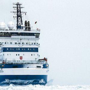 Arctic 100 Expedition. Monitoimimurtaja Nordica.