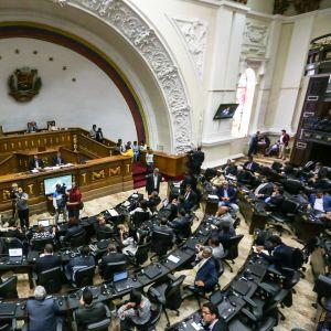 Venezuelan parlamentti 9. toukokuuta.