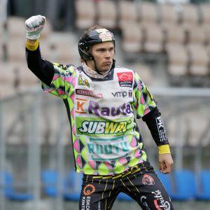 Kouvolan Pallonlyöjien Toni Laakso.