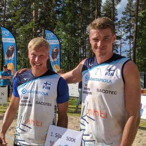 Jyrki Nurminen ja Pekka Piippo