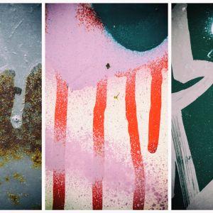 Seinämaalauksia.