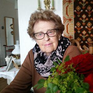 95-vuotias raumalainen Heidi Helin