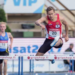Oskari Mörö Kalevan kisoissa 2017
