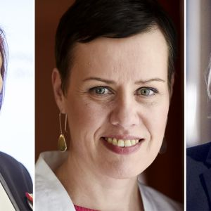 Sirpa Paatero, Maarit Feldt-Ranta ja Tuula Haatainen
