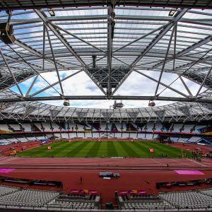 Lontoon olympiastadion yleisurheilun MM 2017 yleiskuva