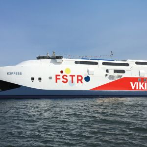 Viking Line -yhtiön FSTR-alus.