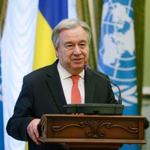 YK:n pääsihteeri Antonio Guterres