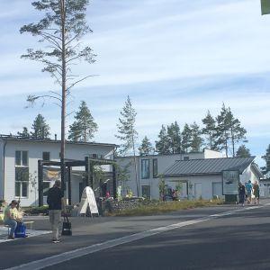 Kuva Mikkelin asuntomessualueelta.
