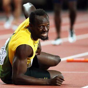 Usain Bolt loukkaantuminen
