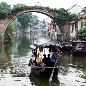 Huzhoun keskustaa.