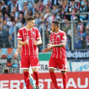 Bayernin Niklas Süle ja Corentin Tolisso