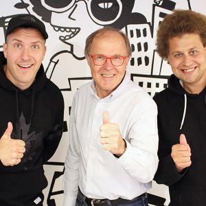 Matti Kyllönen ja YleX Aamu