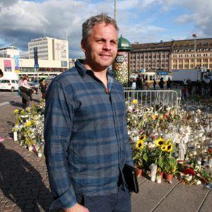 Turun Mikaelin seurakunnan pappi Jonathan Westergård.