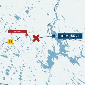 Kartta Kemijärvi Hyypiö