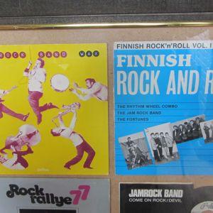Jam Rock bandin levyjä