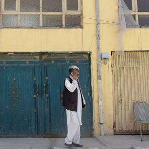 Kabulissa sijaitseva kansainvälinen vierasmaja, johon hyökättiin 21. toukokuuta. Iskussa siepattiin suomalaisnainen ja tapettiin saksalainen nainen sekä paikallinen vartija.