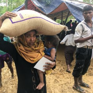 Rohingya-muslimit.