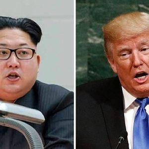 Kim Jong-un ja Donald Trump.