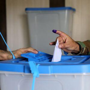 Irakin Kurdistan äänestää parhaillaan itsenäistymisestä.