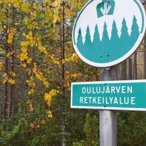 Oulujärven retkeilyalue 26.9.2017.